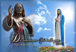 The Creation of the Statue of Our Lady of Kibeho, Mother of The Word