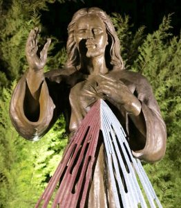 Our Statue of The Divine Mercy